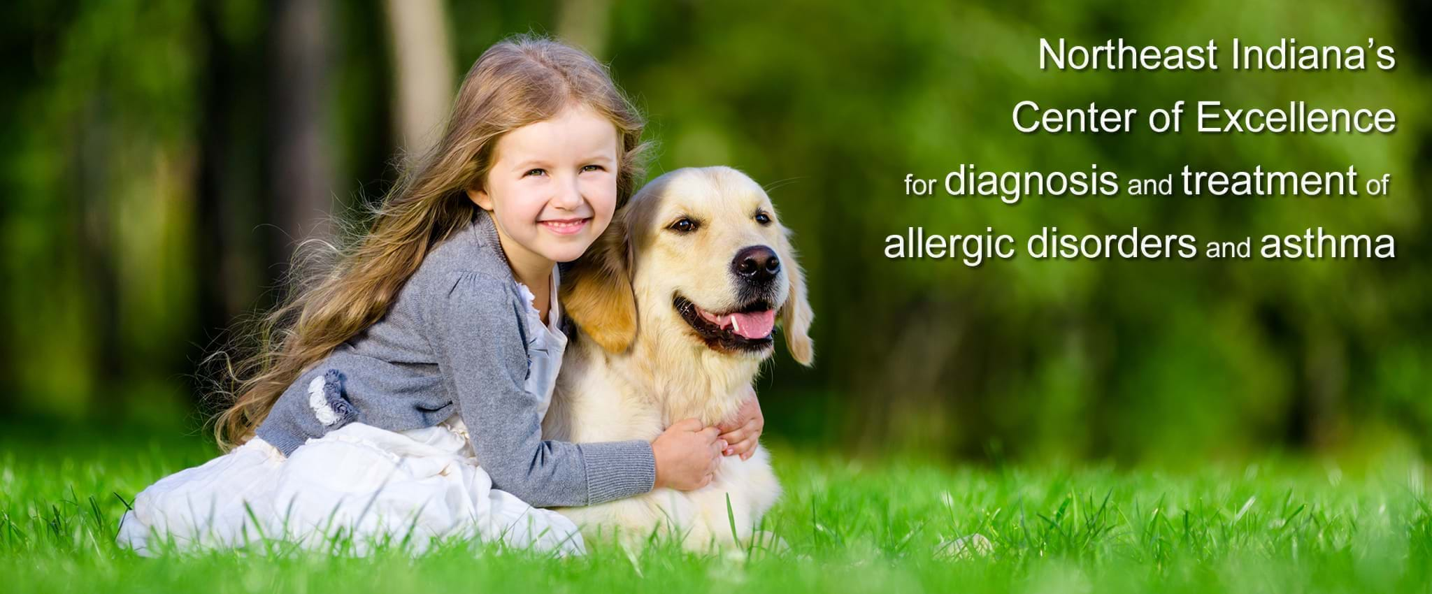 Northeast Indiana's Center of Excellence for diagnosis and treatment of allergic disorders and asthma